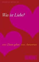 Buchcover Andreas Mackler Was Ist Liebe  Zitate Geben  Antworten