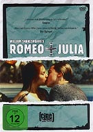 DVD-Cover William Shakespeares Romeo & Julia (Regisseur: Baz Luhrmann)